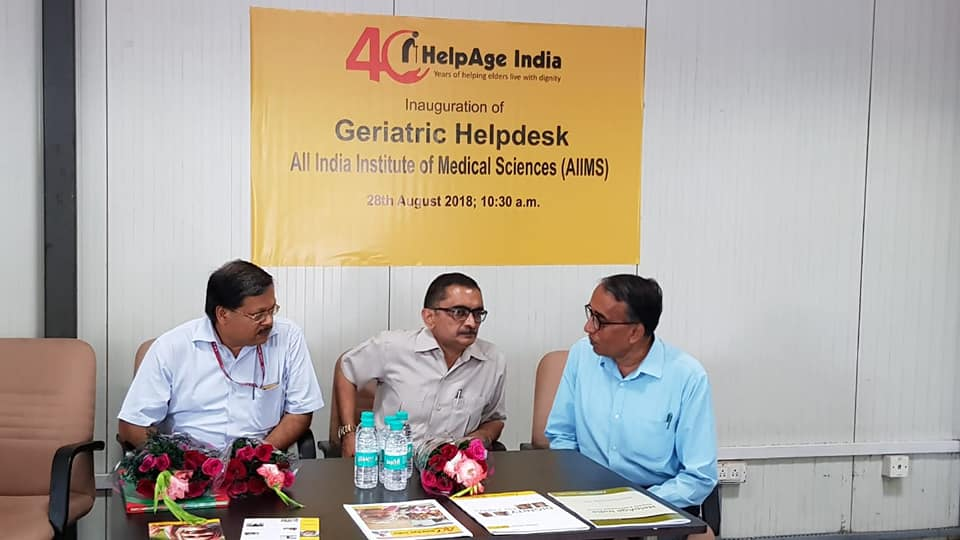 Elders Help Desk at AIIMS