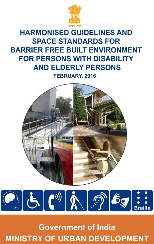 HARMONISED GUIDELINES FOR BARRIER FREE BUILT ENVIRONMENT